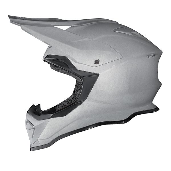 Nolan N53 Flaxy cross helmet White Red Blue