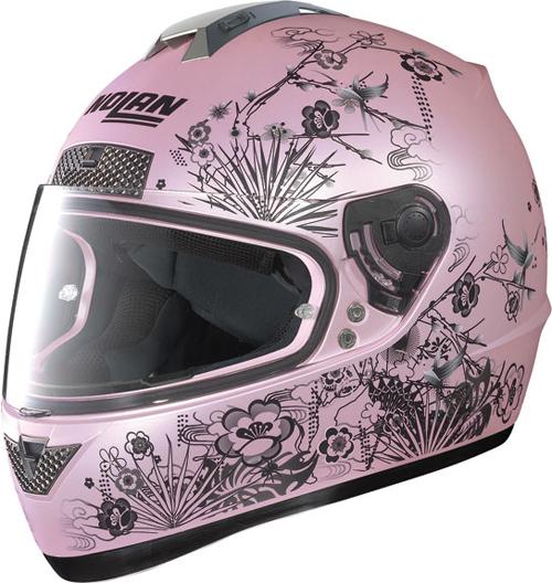 Casco moto integrale Nolan N63 Oriental flat pearl pink