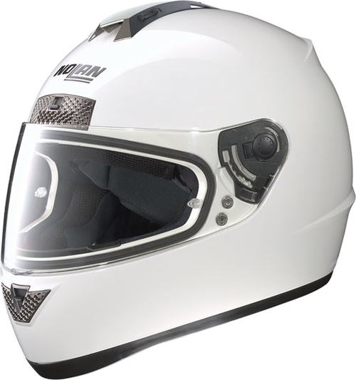 NOLAN N63 Classic full-face helmet col. metal white