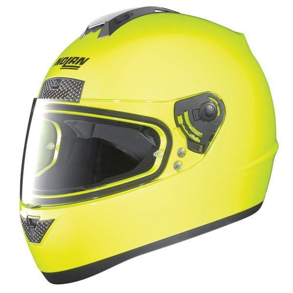 Nolan N63 Hi-Visibility N-com Full-face helmet fluo yellow