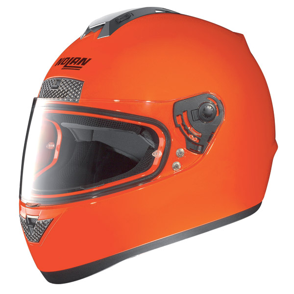 Nolan N63 Hi-Visibility N-com Full-face helmet fluo orange