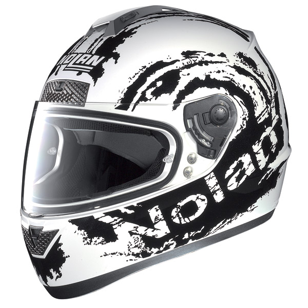 Casco moto Nolan N63 Sketch metal white