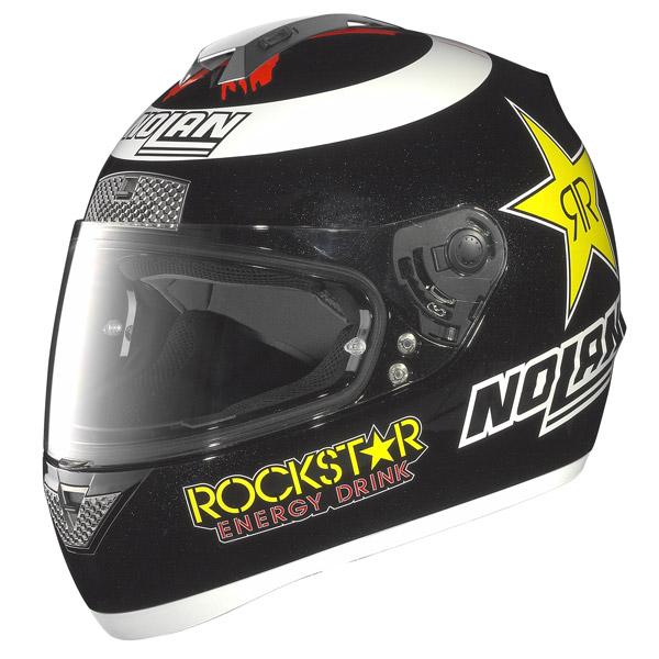 Nolan N63 Gemini Replica Lorenzo metal black 66 helmet