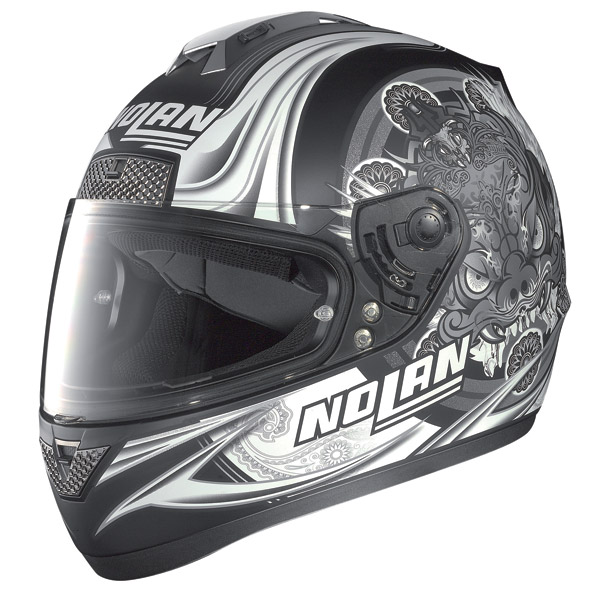 Nolan N63 Fearful full-face helmet flat black