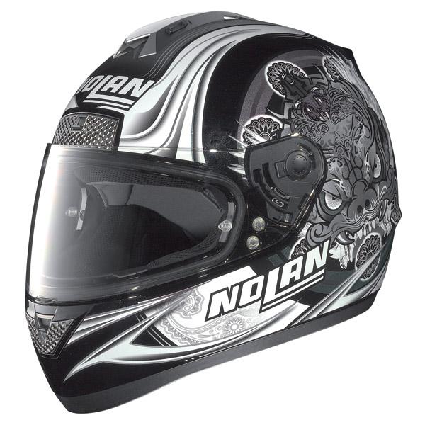 Nolan N63 Fearful full-face helmet metal black-grey