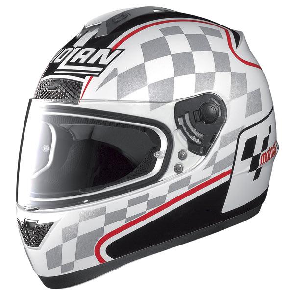 Nolan N63 Moto GP fullface helmet white