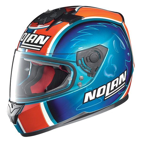 Nolan N64 Gemini Replica Melandri full face helmet