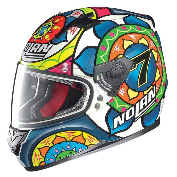 Nolan N64 Gemini Replica Davies Sepang full face helmet