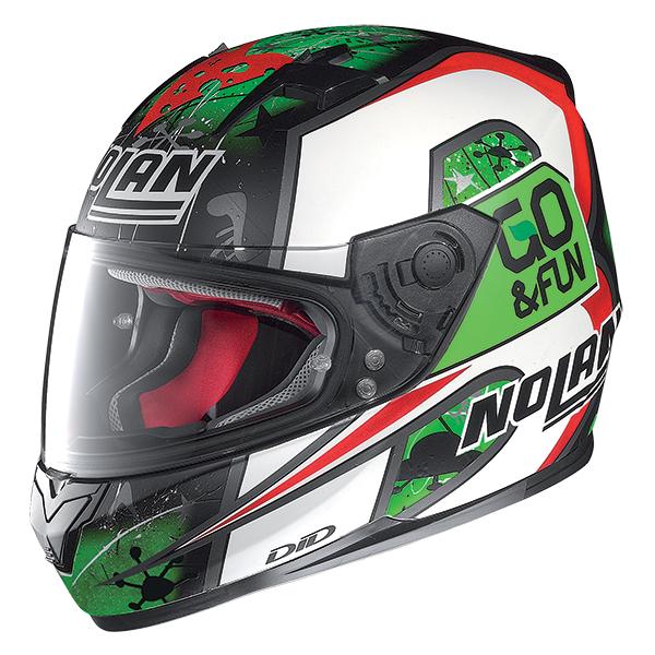 Nolan N64 Gemini Replica Bastianini full face helmet