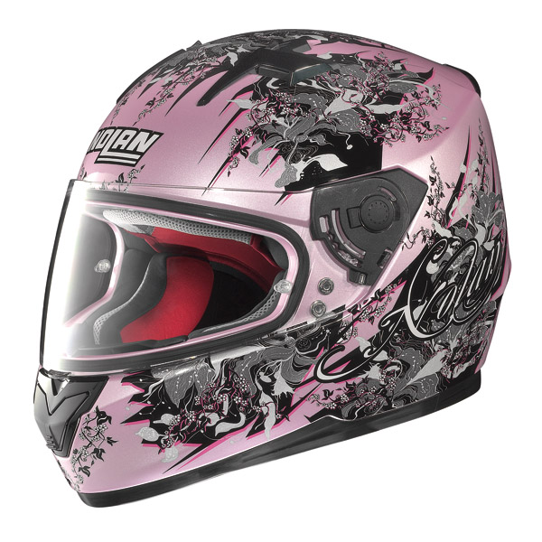Casco moto Integrale Nolan N64 Glamour Rosa Perlato