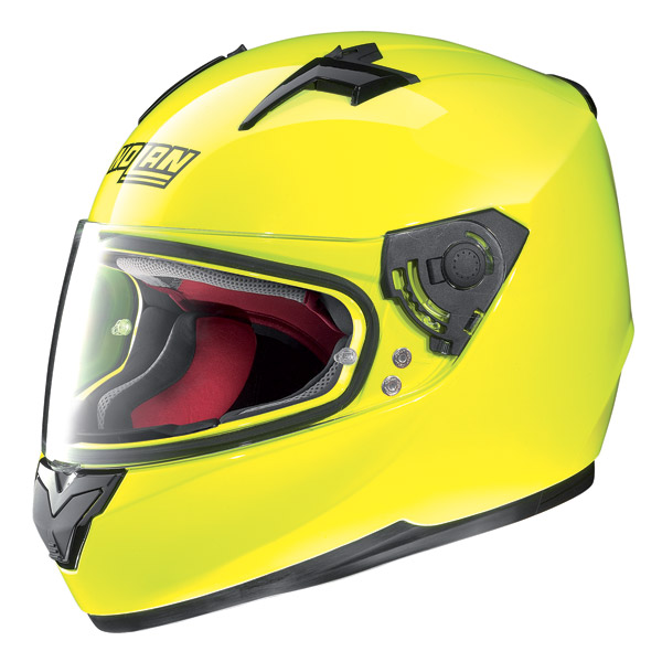 Motorcycle Helmet Full-Face Nolan N64 Hi Visibility fluo yellow