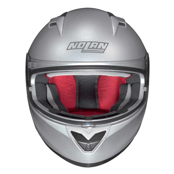 Casco moto integrale Nolan N64 Alta Visibilità arancio fluo