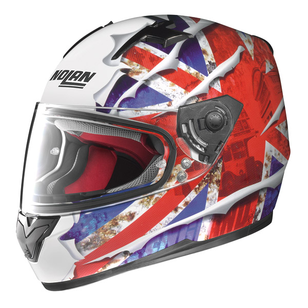Motorcycle Helmet full-face Nolan N64 Set Flag