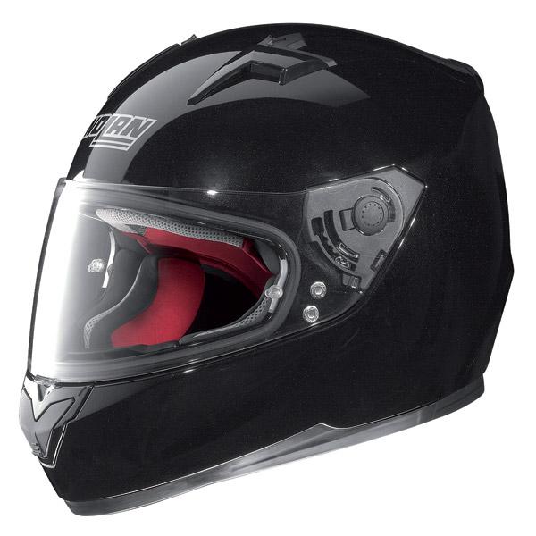 Casco moto integrale Nolan N64 Smart nero lucido