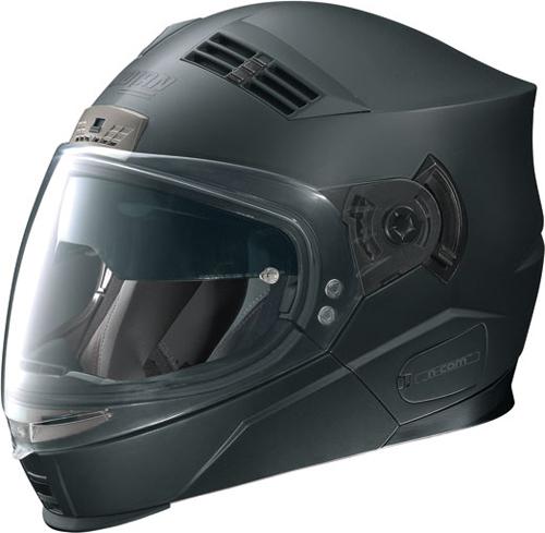 NOLAN N71 Classic N-com flip-up helmet col. flat black