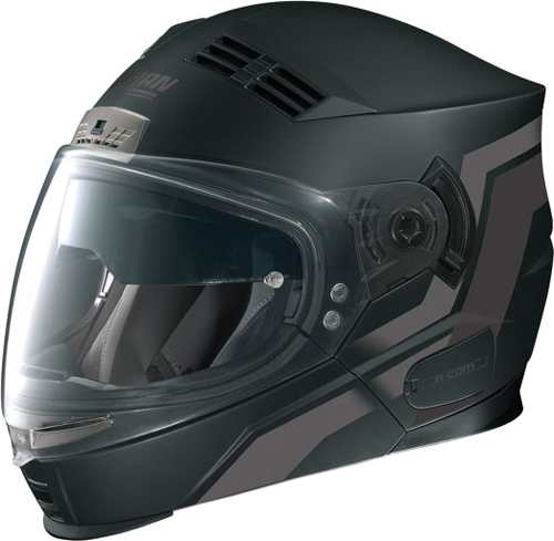 NOLAN N71 Motion N-com flip-up helmet col. flat black