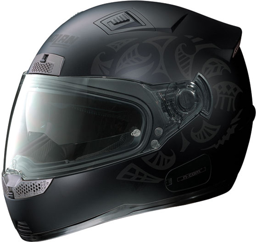 Casco moto integrale Nolan N85 Shade nero opaco