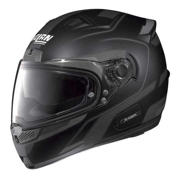 Nolan N85 Virage N-com fullface helmet flat black