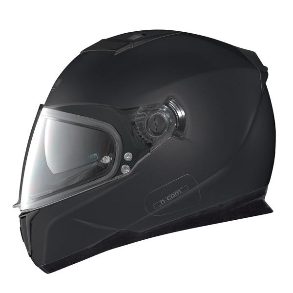 Casco moto Nolan N86 Classic N-Com flat black