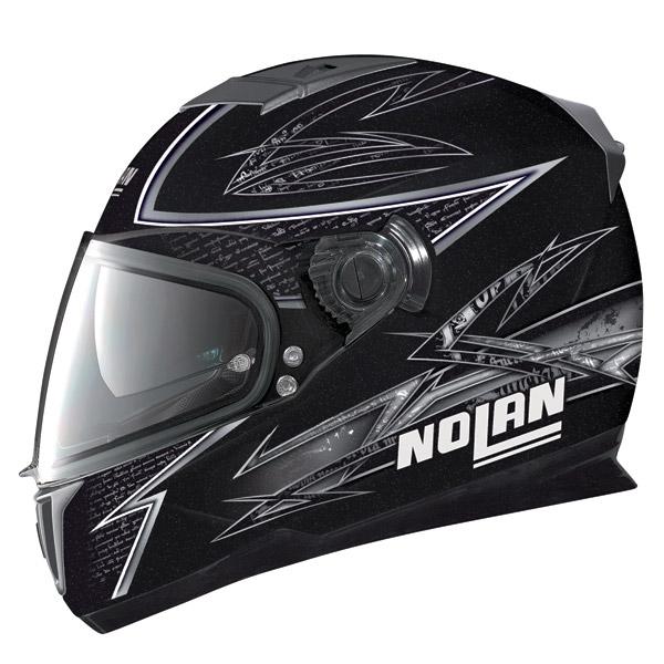 Casco moto Nolan N86 Beat metal black