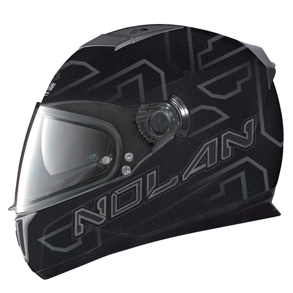 Nolan N86 Ghost metal balck full face helmet