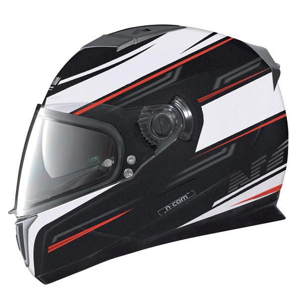 Nolan N86 Flow N-Com metal black full face helmet