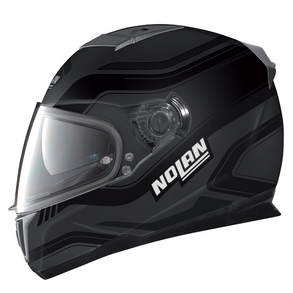 Nolan N86 Deep flat lava grey full face helmet