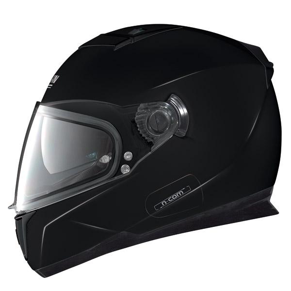 Casco moto Nolan N86 Classic N-Com glossy black