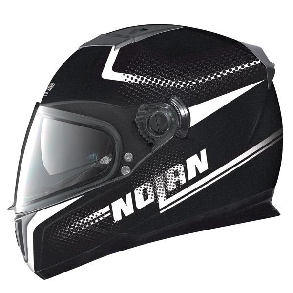 Casco moto Nolan N86 Force metal black