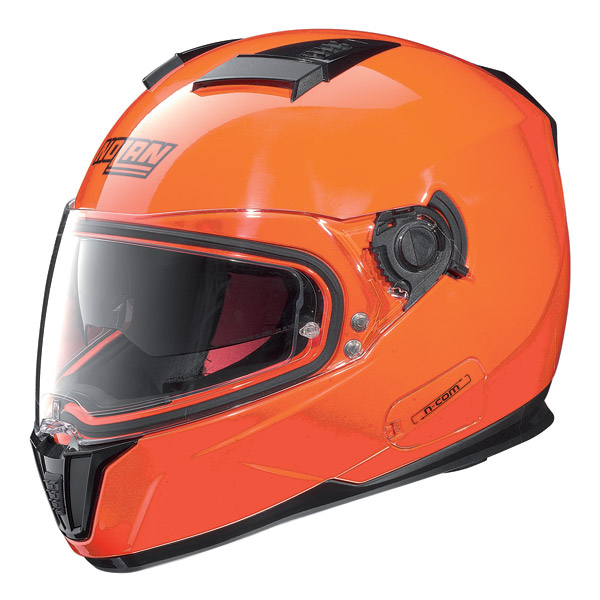 Helmet full-face Nolan N86 N-Com Hi-Visibility Fluo Orange