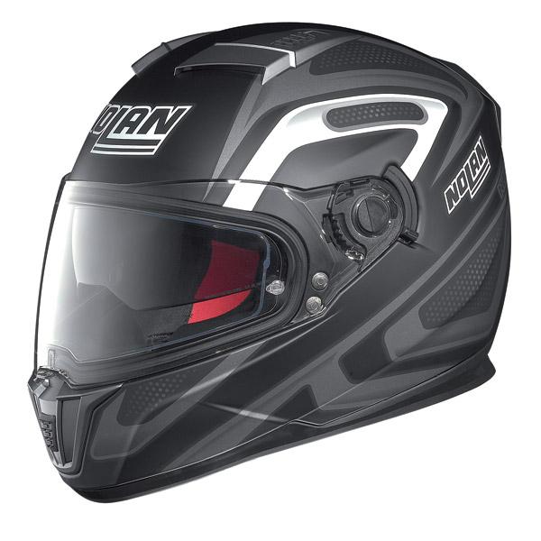 Motorcycle Helmet full-face Nolan N86 Overtaking Flat Black