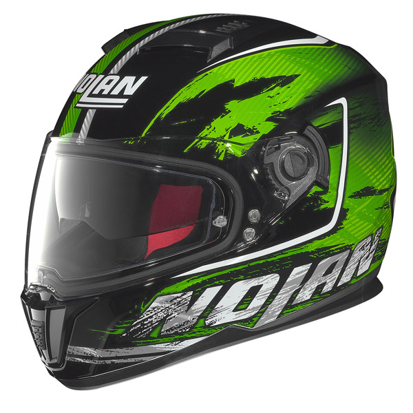 Motorcycle Helmet full-face Nolan N86 Specter Black-Green