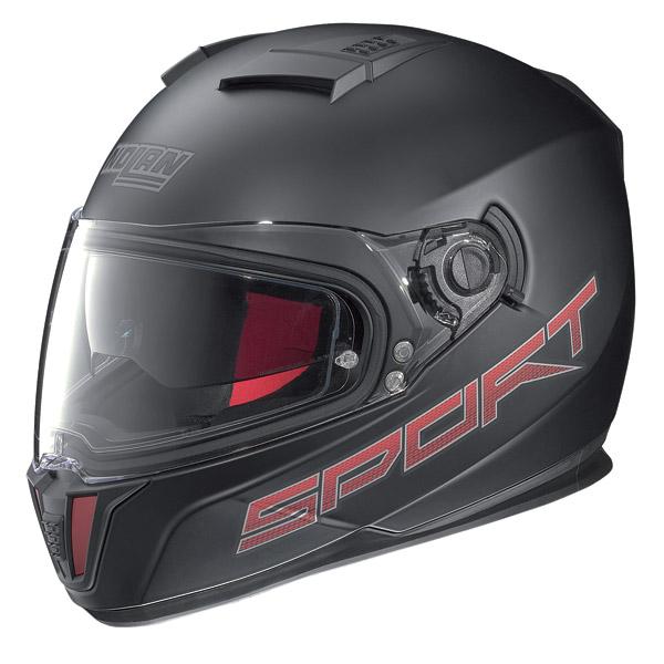 Motorcycle Helmet full-face Nolan N86 Sport flat black