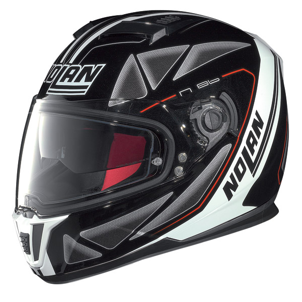 Casco moto integrale Nolan N86 Stealth nero