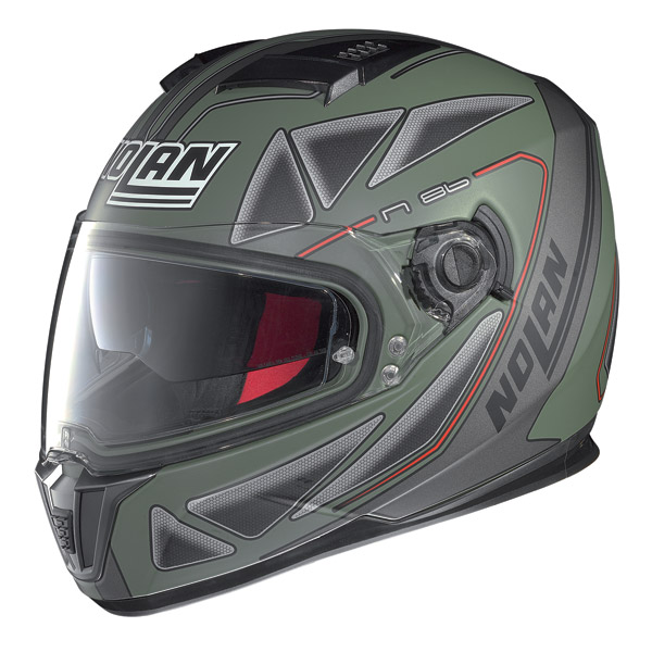 Helmet full-face Nolan N86 Stealth Flat Military Green