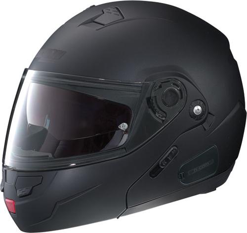 NOLAN N90 Classic N-Com flip-up helmet col. flat black