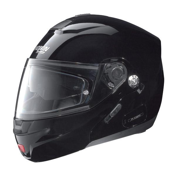 Casco moto Nolan N91 Classic N-Com glossy black