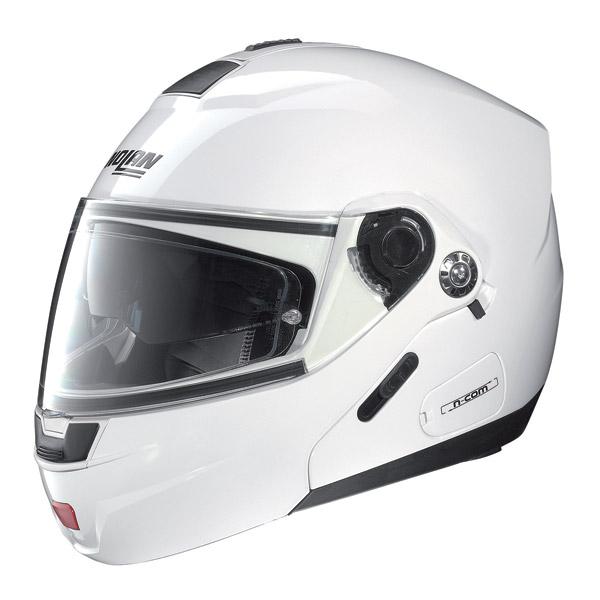 Nolan N91 Classic N-com open-face helmet metal white