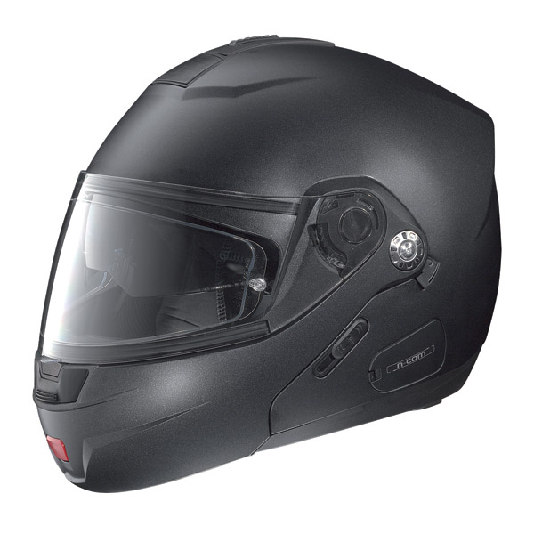 Nolan N91 Classic N-com open-face helmet black graphite