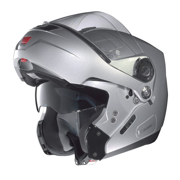 Nolan N91 Classic N-com open-face helmet arctic grey