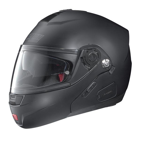 Nolan N91 Evo Classic N-Com flip off helmet Black Matt