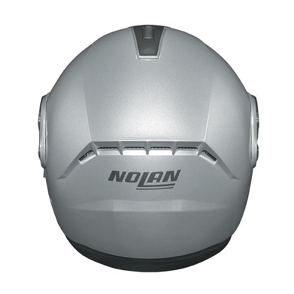 Nolan N91 Evo Special N-Com flip off helmet Silver