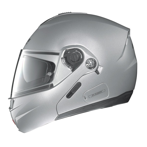 Motorcycle Helmet flip-up Nolan N91 Linear N-Com matt black