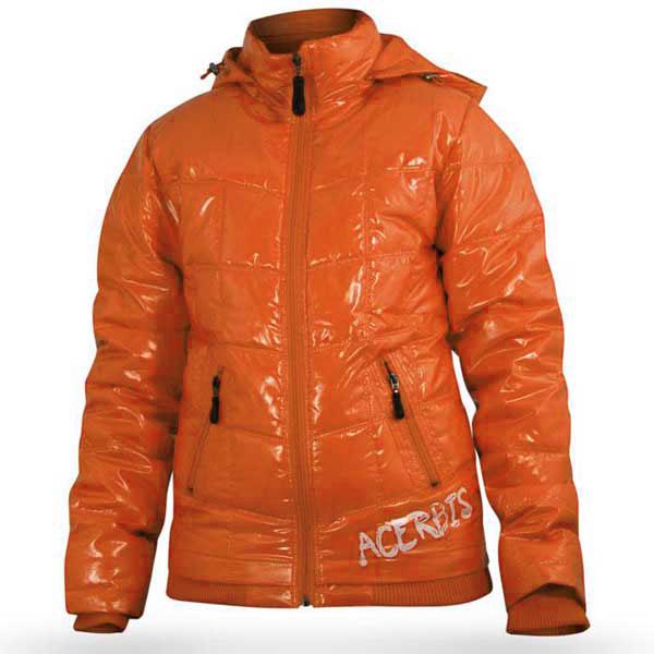 Motorcycle jacket woman Acerbis Nano Orange Lady
