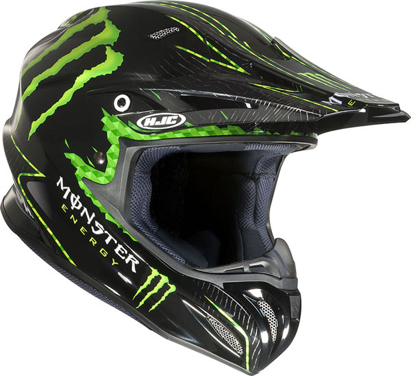 HJC RPHA X Nate Adams Monster MC5 off road helmet