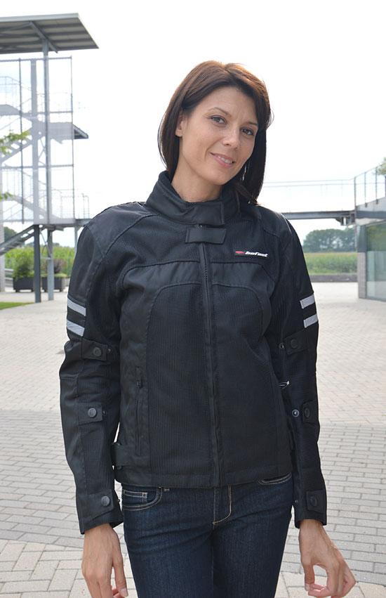Giubbotto moto donna estivo Befast NewSun Lady