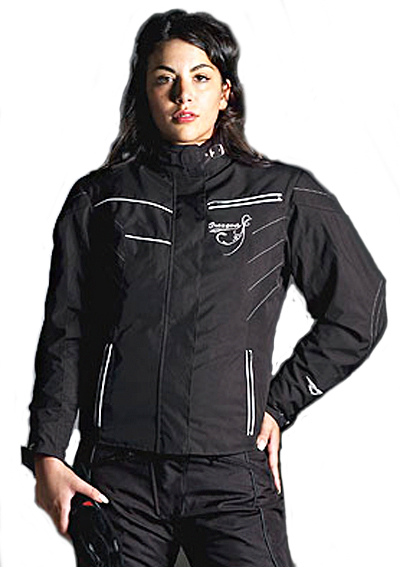 Prexport Ninphea waterproof woman jacket 3 layers Black