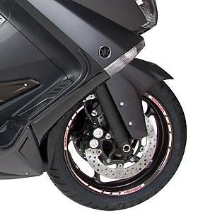 Barracuda Stickers Yamaha T-Max 08 White