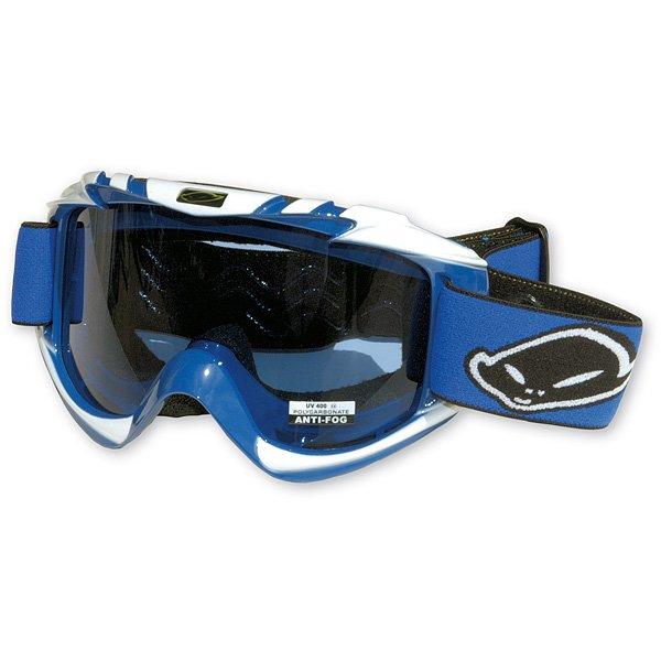Ufo Plast Nazca cross goggles Blue