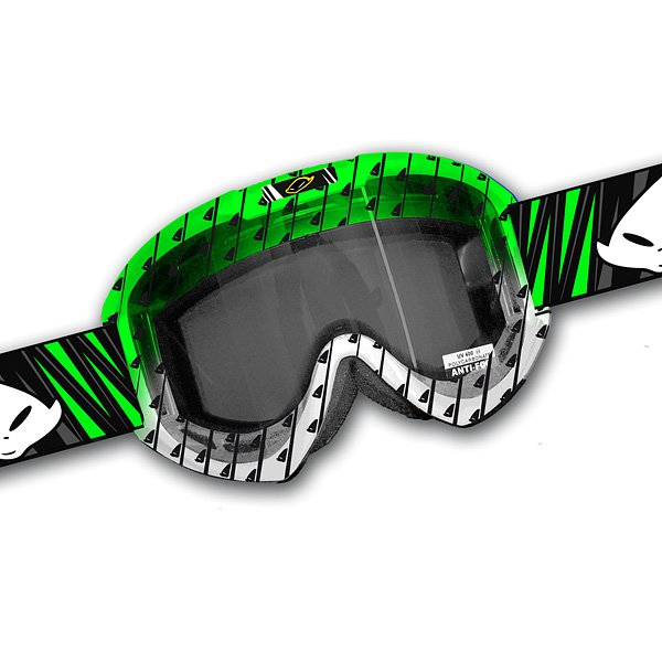 Ufo Plast Fusion Evolution cross goggles Green White